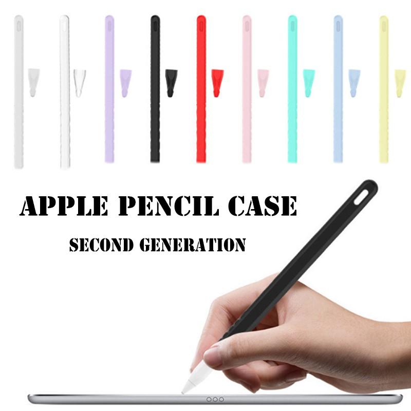 Apple Pencil Case รุ่นที่ 2 ปากกาเขียนไอแพด Apple Pencil เคสซิลิโคน Apple Pencil Case เคส Apple Pencil Apple Ipad Pencil ปากกาไอแพด เคสไอแพด