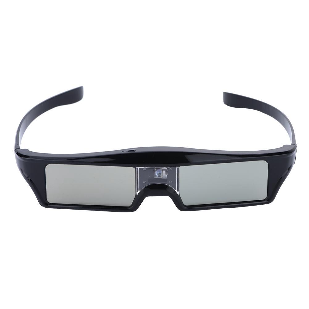 Boblov 3D Gafas 3D Glasses Active Shutter DLP-Link USB para BenQ W1070/W700/DELL