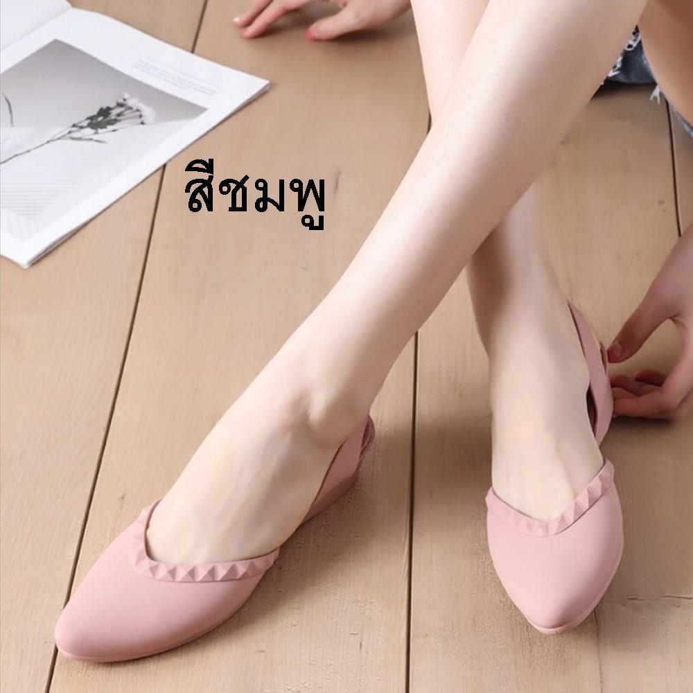 ส้นแบนหัวแหลม# รองเท้าคัชชูหัวแหลม มีส้น รองเท้าคัชชู รองเท้าสวย รองเท้าแฟชั่น หัวแหลม สวย รองเท้าผู้หญิง