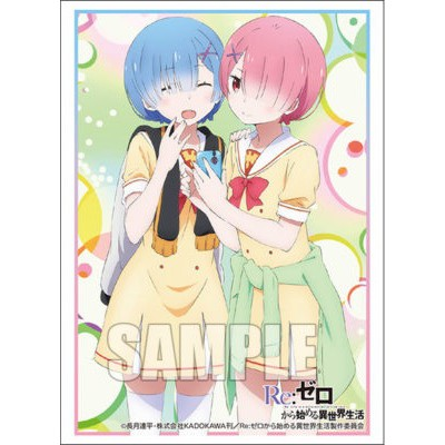 Bushiroad sleeve collection extra Vol. 213 [Re:ZERO -Starting Life in Another World-] REM&RAM