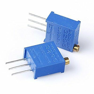 10pcs 3296 W High Precision Variable Resistor Potentiometer Trimmer 102 1K ohm