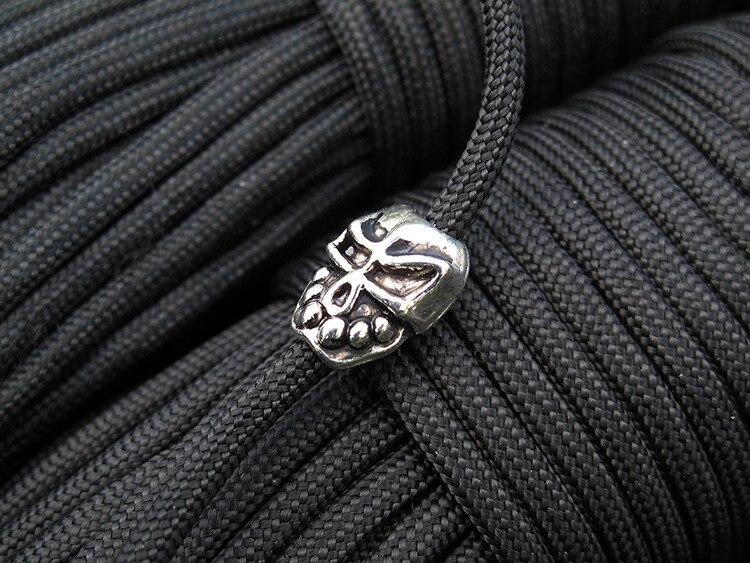 10pcs Paracord Beads Metal Charms Buckles For Paracord Bracelet Accessories NEW