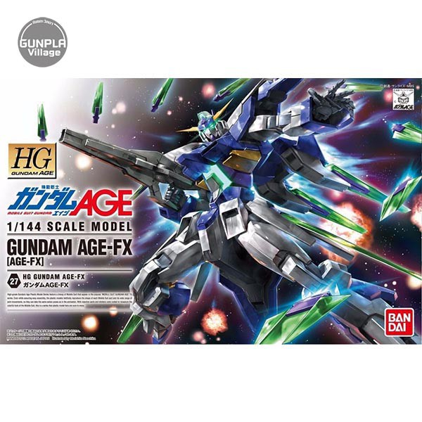 Bandai HG Gundam AGE-FX 4573102573889