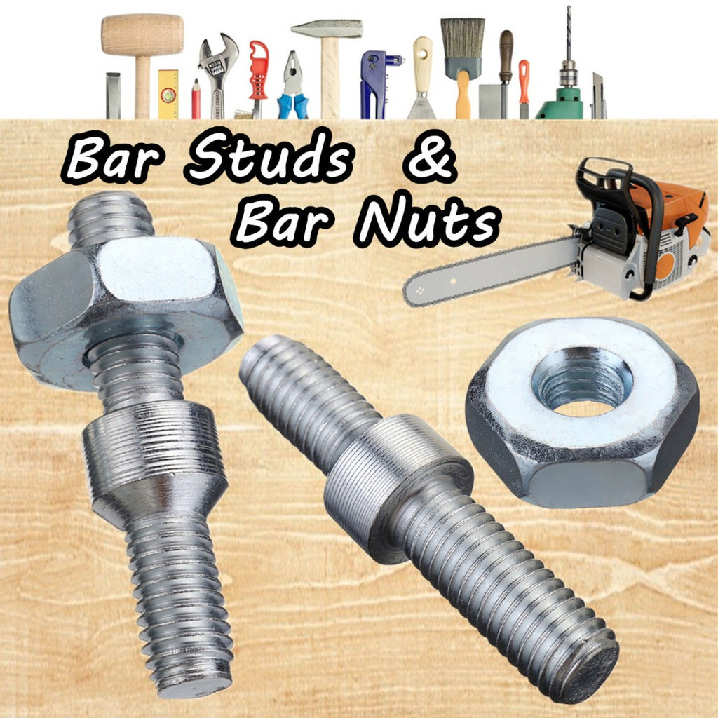 Chainsaw Bar Studs & Bar Nuts For Stihl Chainsaw 024 026 MS260 028 031 032