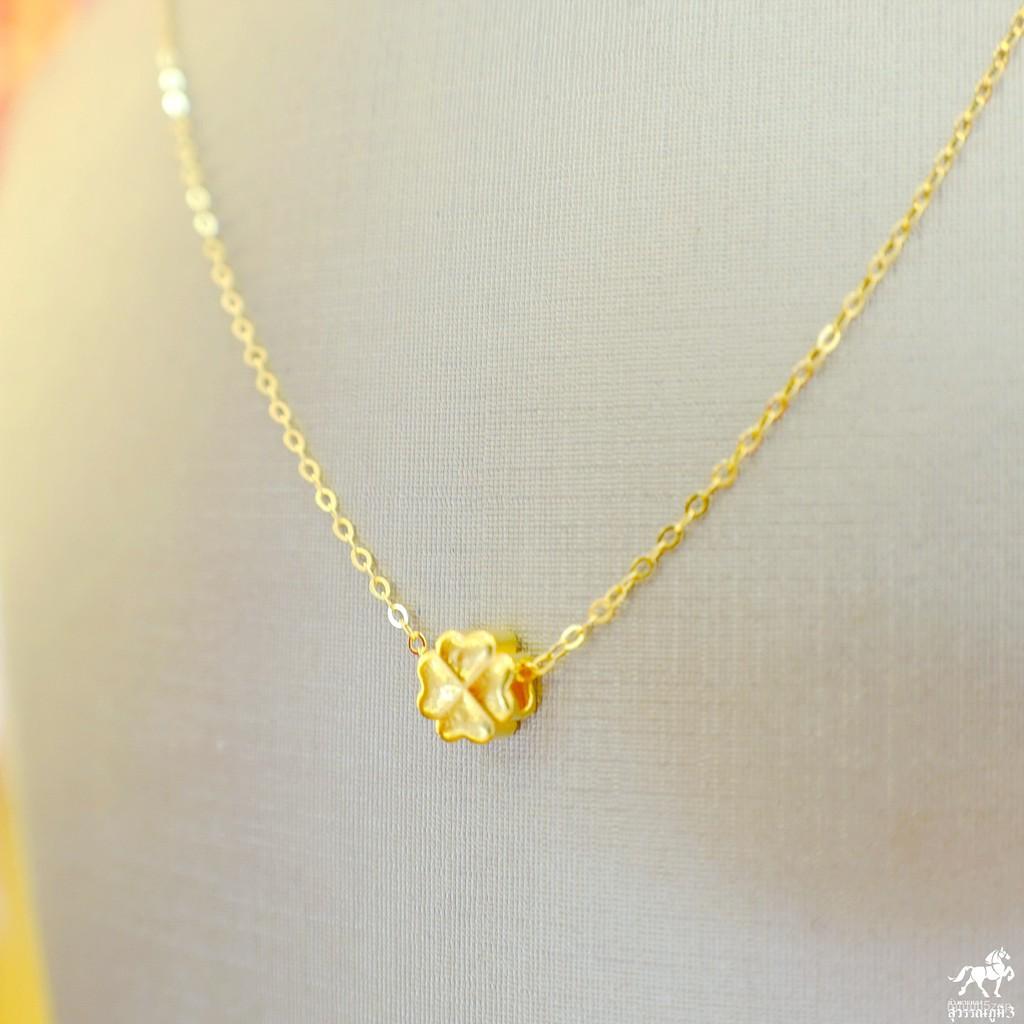 สร้อยคอเงินชุบทอง+จี้ปี่เซียะทองคำ 99.99% น้ำหนัก 0.1 กรัม และชาร์มอื่นๆ ซื้อยกเซตคุ้มกว่าเยอะ แบบราคาเหมาๆเลยจ้า 2lEO