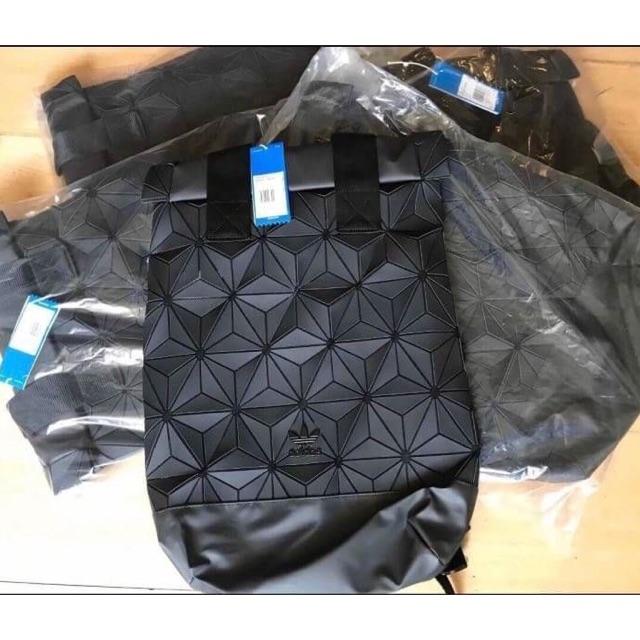 กระเป๋า ADIDAS 3D ROLL TOP BACKPACK โลโก้ดำ ของแท้