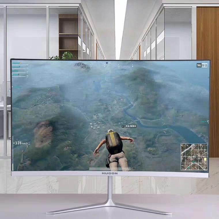 จอแสดงผลคอมพิวเตอร์22นิ้วคอมพิวเตอร์ตั้งโต๊ะจอแอลซีดี24นิ้วพื้นผิวโค้ง19-จอแสดงผลขนาดนิ้ว