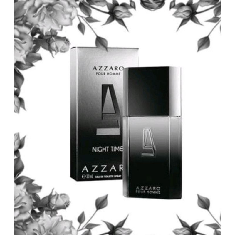 Azzaro pour Homme Night Timeขวดฉีดแบ่ง 10ml 🇫🇷 EDT mini Travel Decant Spray น้ำหอมแบ่งขาย น้ำหอมกดแบ่ง