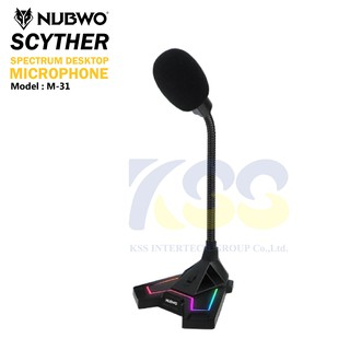 Review Nubwo Scyther Microphone M-31