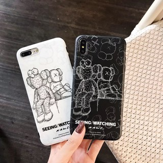 Review เคส iPhone X XS Max XR 11 Pro Max 7 8 Plus Fashionable KAWS Soft Phone Case