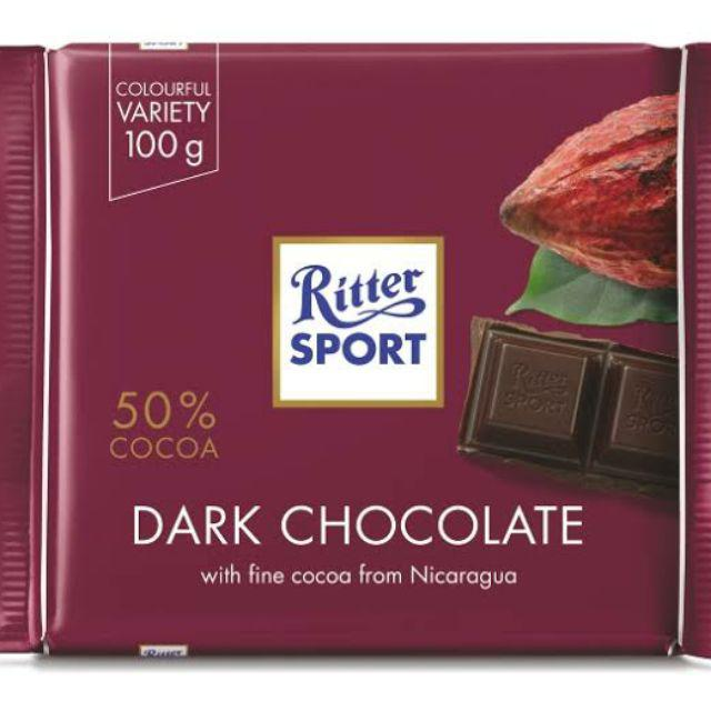 ritter sport choklad