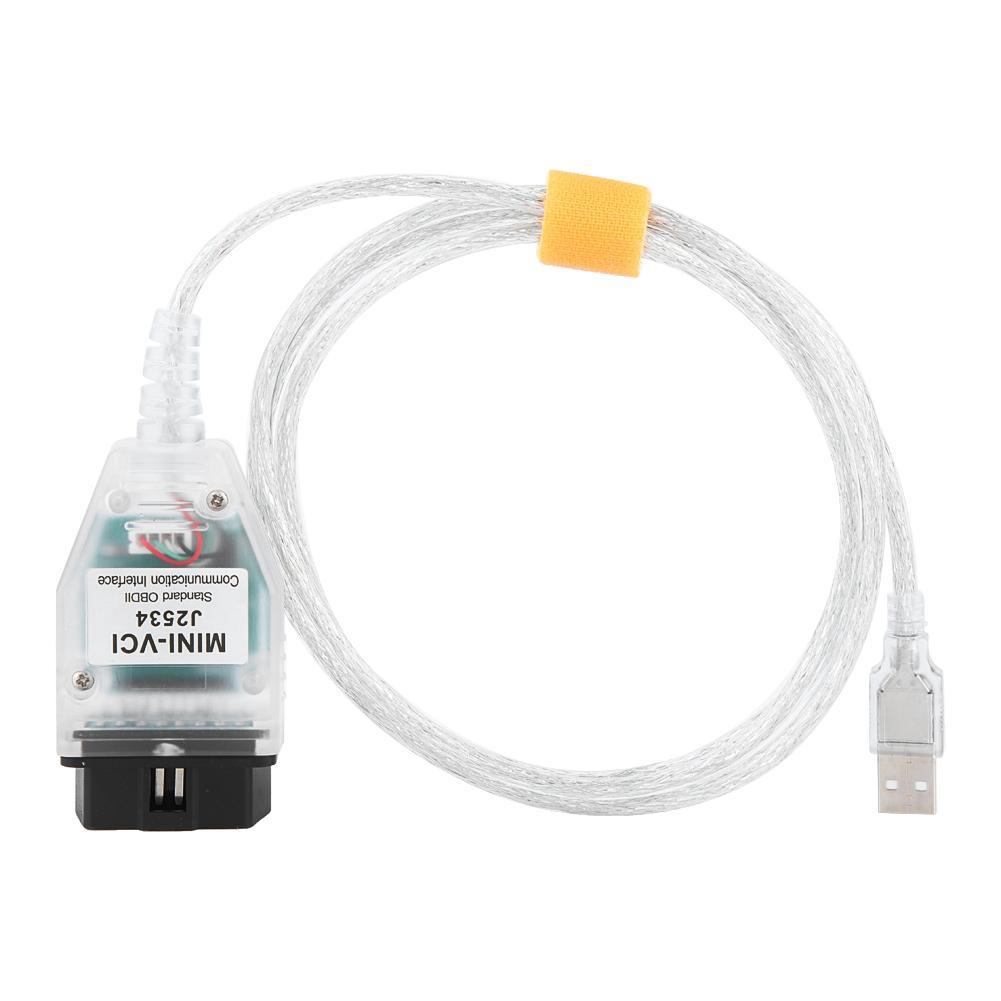 Program 00 Connector TIS Cable 022 Car for Mini USB OBD2 J2534 Toyota V13  Diagnostic VCI