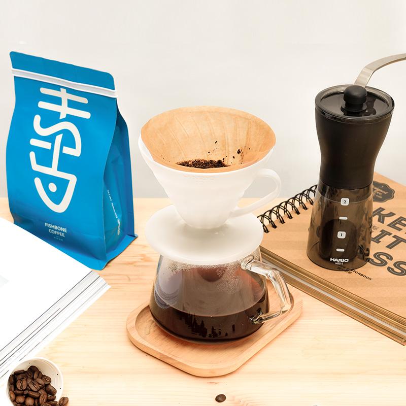 ≗❋เครื่องชงกาแฟมือเครื่องบดกาแฟFishbone & Hario & Masada ชุดกาแฟทำมือกระดาษกรองเครื่องบดเมล็ดกาแฟทำมือ