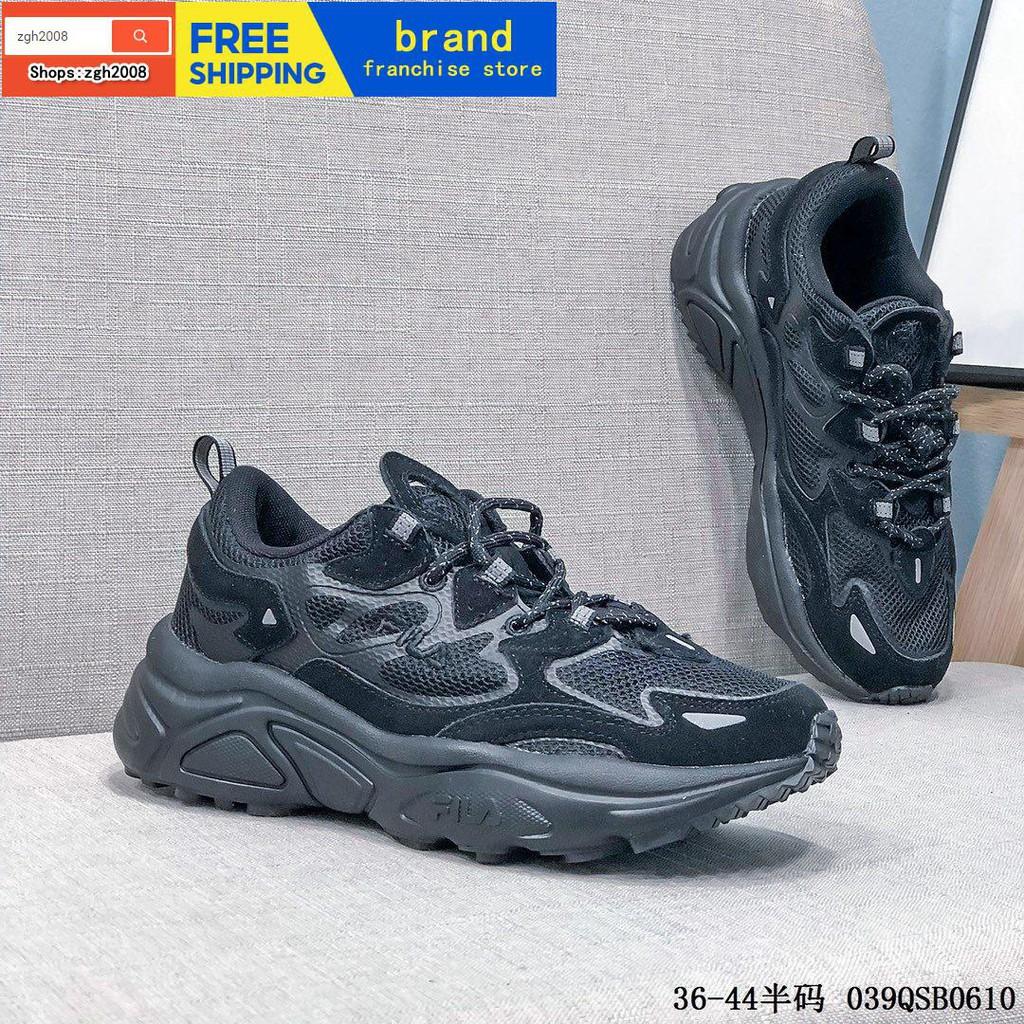 Fila TENACITY99 / 20 รองเท้าวิ่งรองเท้าวิ่งสไตล์ย้อนยุค