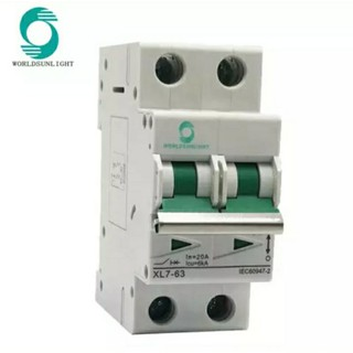DC circuit Breaker 500V  32A Solar cell  Worldsunlight