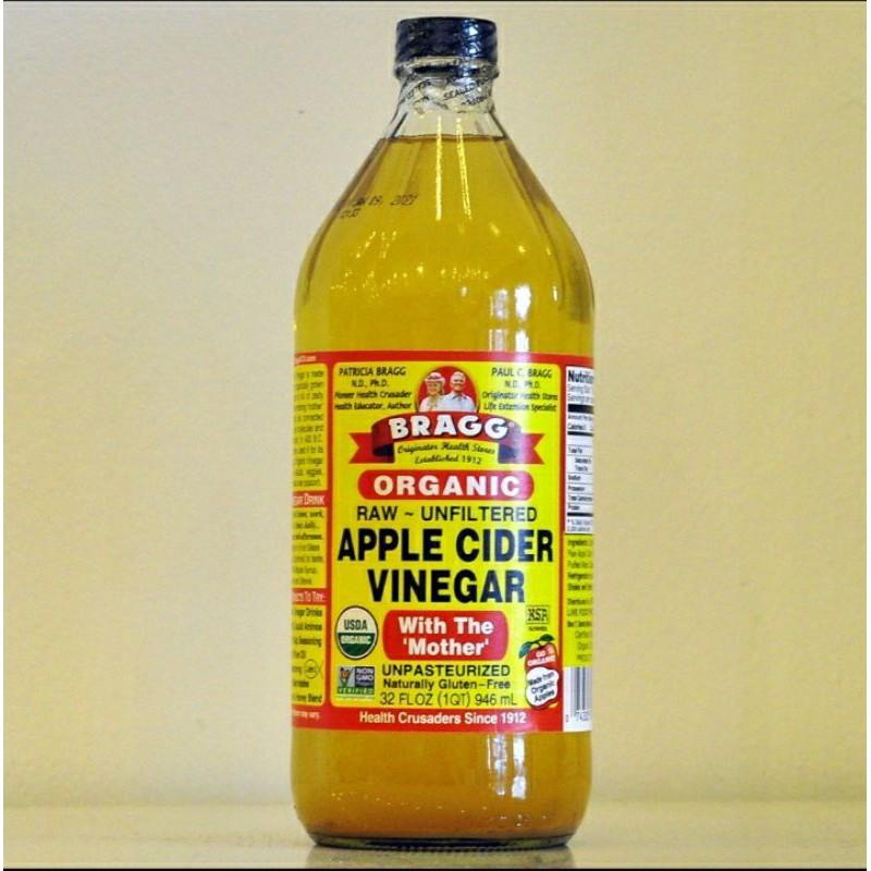 Bragg Apple Cider Vinegar ขนาด 946 มล. สินค้าพร้อมส่ง 100% 👍👍👍
