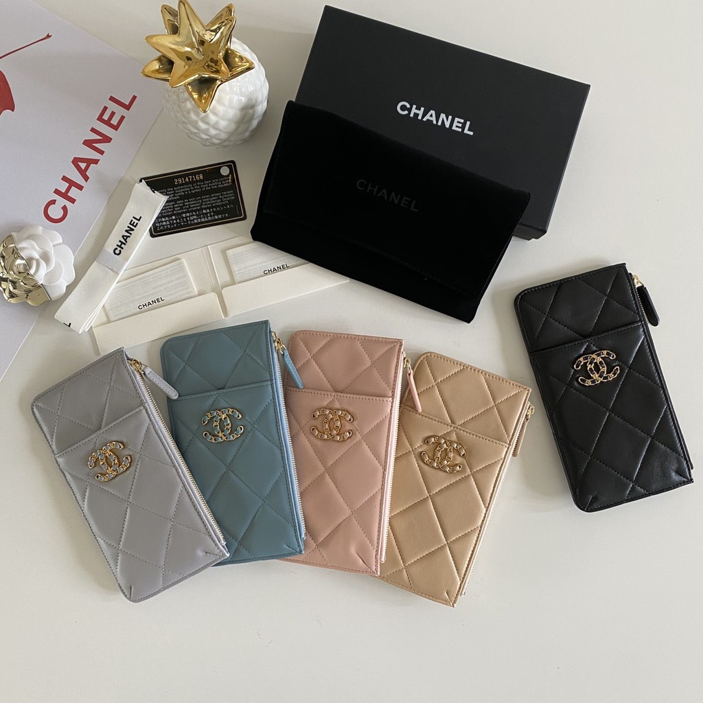 Chanel Classic Flap Small Caviarskin Wallet Original