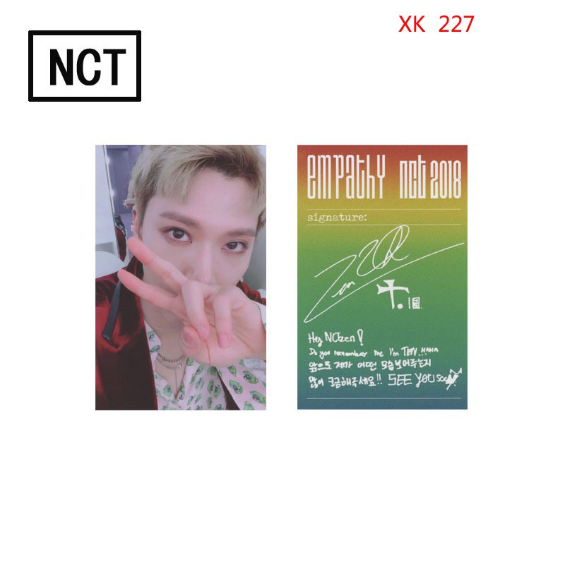 Cheapest Price NCT 2018 EMPATHY DREAM Colorful Card Homemade