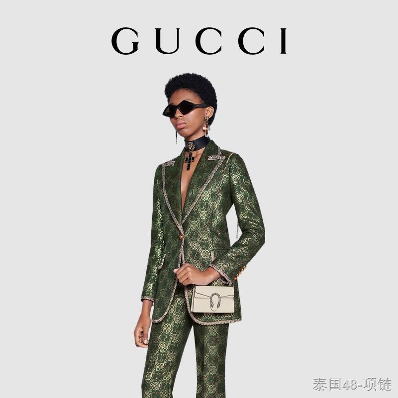 ﺴ◕GUCCI Gucci Dionysus Dionysus Series กระเป๋าสะพาย Supermini