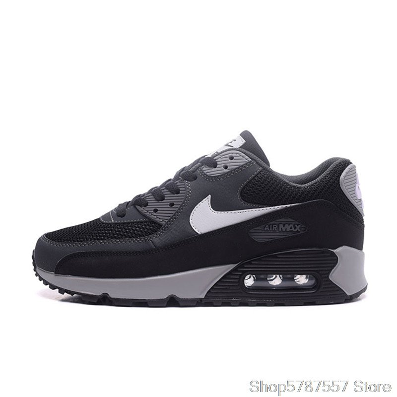 Breathable Nike Air Max 90 Essential Men's Running Shoes Sport Outdoor Sneakers Nike Shoes Airmax 90 537384-090