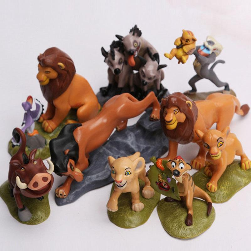 Review ฟิกเกอร์ Disney The Lion King Figure Collection Movie simba 9 ชิ้น