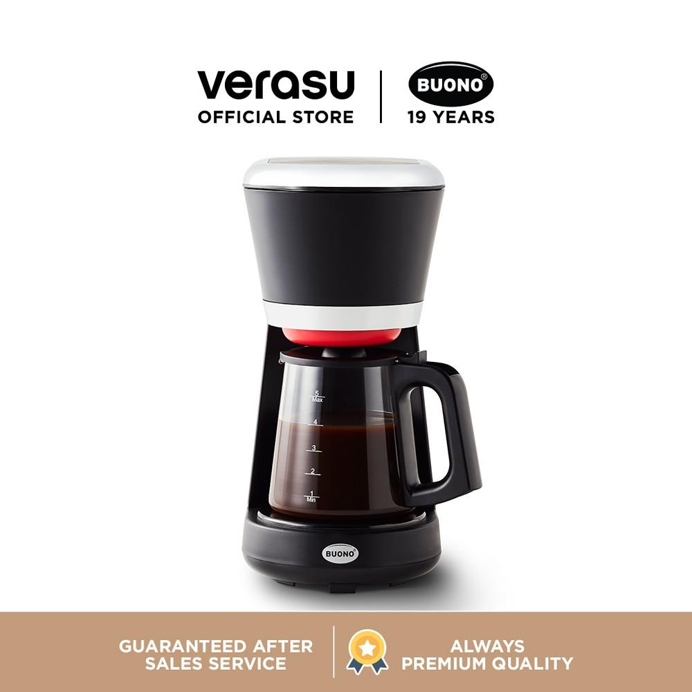 BUONO เครื่องชงกาแฟแบบหยด รุ่น BUO-261163 VERASU วีรสุ เครื่องชงกาแฟ เครื่องทำกาแฟ