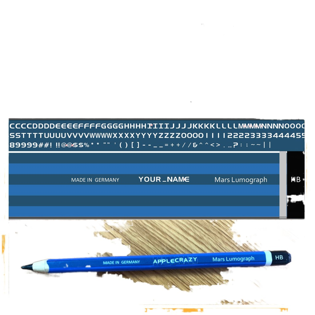 ✾สติกเกอร์ Apple Pencil Wrap Gen 1 และ 2 ธีมดินสอ HB (งานใหม่ล่าสุด)❗️