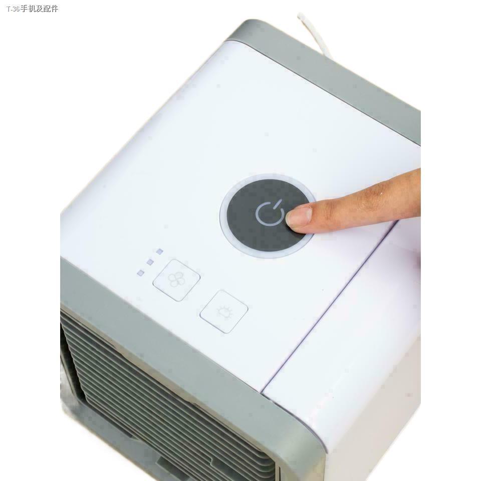 ✙☄♦ARCTIC AIR พัดลมไอเย็นตั้งโต๊ะ พัดลมไอน้ำ พัดลมตั้งโต๊ะขนาดเล็ก เครื่องทำความเย็นมินิ แอร์พกพา Evaporative Air-Cooler