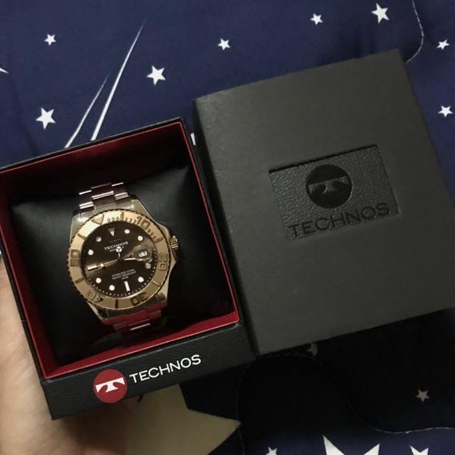 นาฬิกาTechnos ของแท้100%ตรวจสอบได้ พบปลอมคืนเงิน10เท่าราคาสินค้า