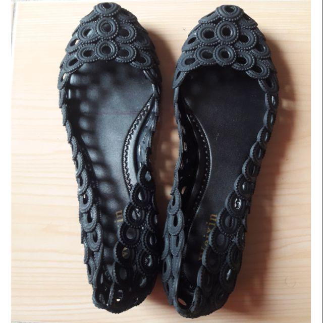 รองเท้าคัชชูสีดำ  Size 38
