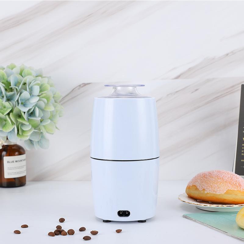 ฟังก์ชั่นไฟฟ้าแบบพกพาเครื่องชงกาแฟเครื่องบดไฟฟ้าเครื่องทำอาหารเดินทางบ้านมินิเครื่องชงกาแฟขนาดเล็ก
