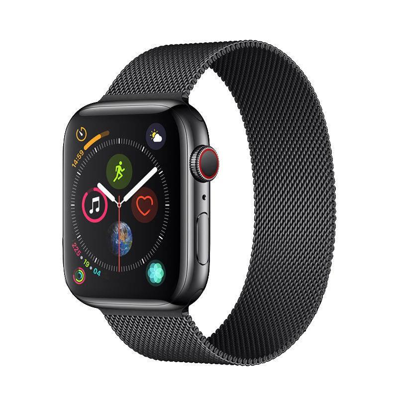 💥 สาย applewatch 🔥 สายรัด Applewatch5 ที่ใช้งานได้ 5/4/3/2 รุ่นสายแม่เหล็กสายนาฬิกา Apple สายสแตนเลสสตีลมิลาน