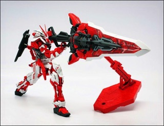 Image # 5 of Review MG  MBF-P02KAI Gundam Astray Red Frame kai