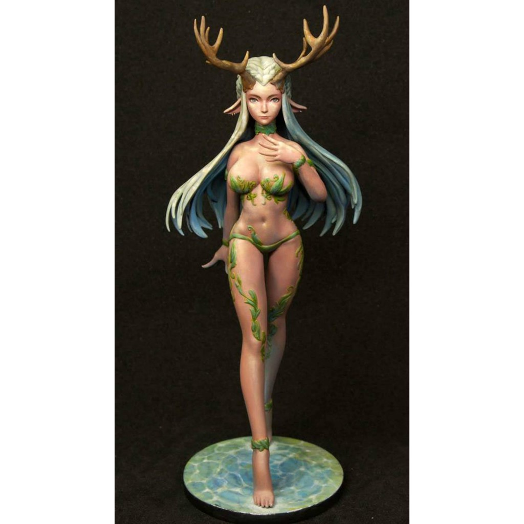 △▦Resin Figure Kit Princess of The Forest (Full Body Figure) Unpainted Garage