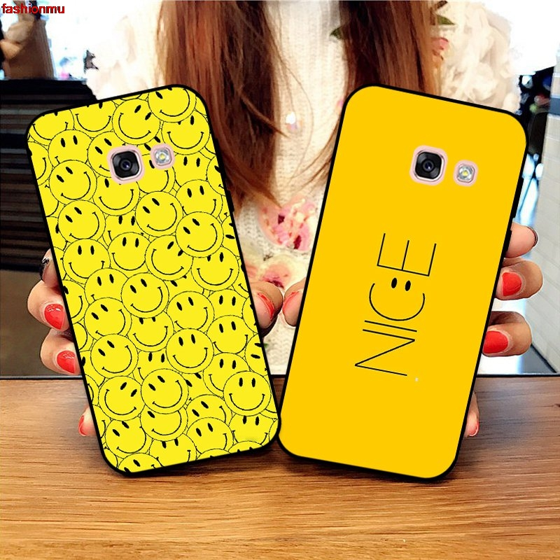 Samsung A3 A5 A6 A7 A8 A9 Pro Star Plus 2015 2016 2017 2018 HHDW Pattern-5 Silicon Case Cover