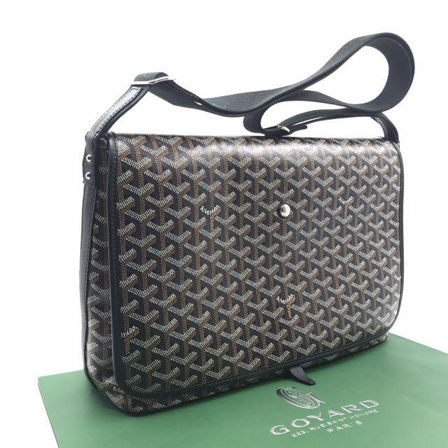 🌟พร้อมส่ง🌟เลื่อนดูรูปเพิ่มเติมได้ค่ะ  New Goyard Messenger Capetien Bag in Black