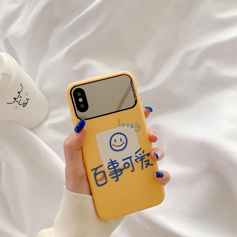 Pepsi cute 11Pro Apple x เคสโทรศัพท์มือถือสำหรับกระจกแต่งหน้า iphone8plus xs max / xr / 7 นิ่ม