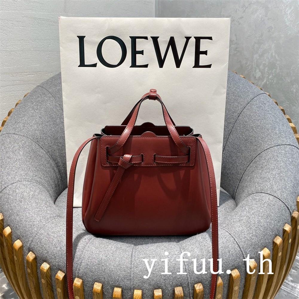 💖💖LOEWE Lazo mini bag กระเป๋าสตรี กระเป๋าหรู กระเป๋าถือ กระเป๋าสะพายไหล่ กระเป๋าเป้สะพายหลัง กระเป๋าเดินทาง กระเป๋านักเรียน กระเป๋าเดินทาง Tiktok ins TOP SALE: 02