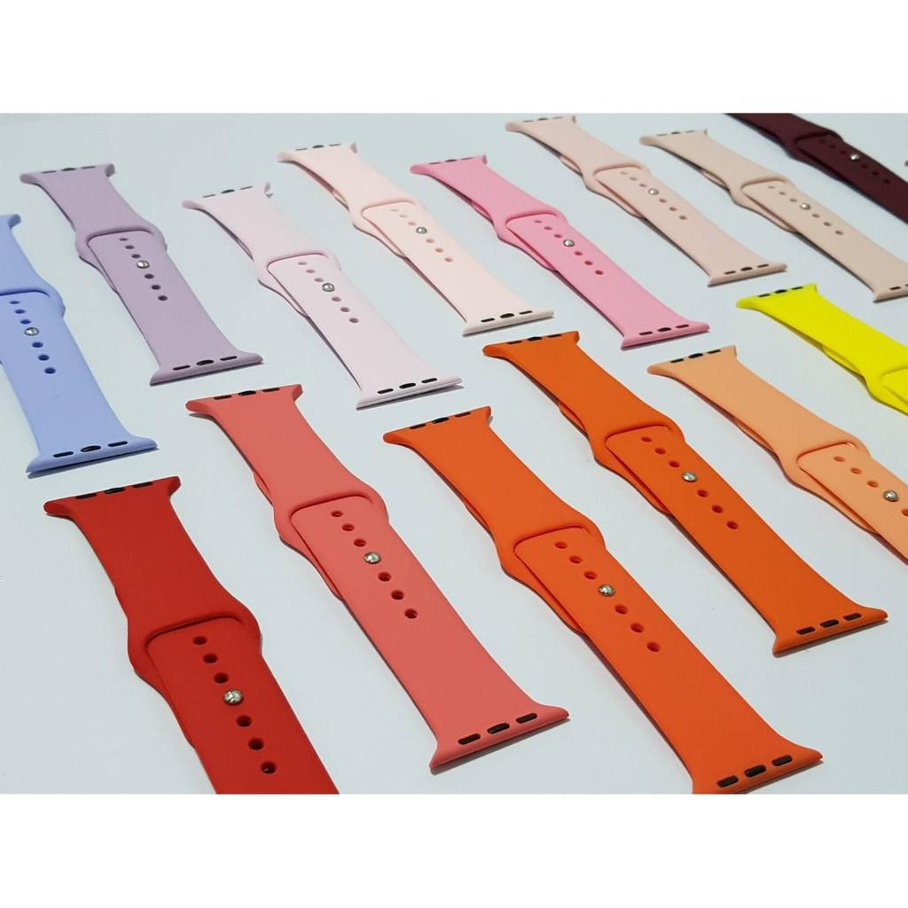 สาย applewatch สาย applewatch แท้ 🔥พร้อมส่งในไทย🌟สาย apple watch sport band 42 /44 mm.set1 ใส่ได้ทุกซีรีย์ S.1-6.🌟
