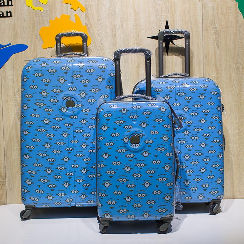 つぶ กระเป๋าเดินทางล้อลาก กระเป๋าเดินทางล้อลากใบเล็กDELSEYเอกอัครราชทูตฝรั่งเศส20นิ้วกรณีรถเข็นกระเป๋าเดินทางขนาดเล็ก24ใบ้