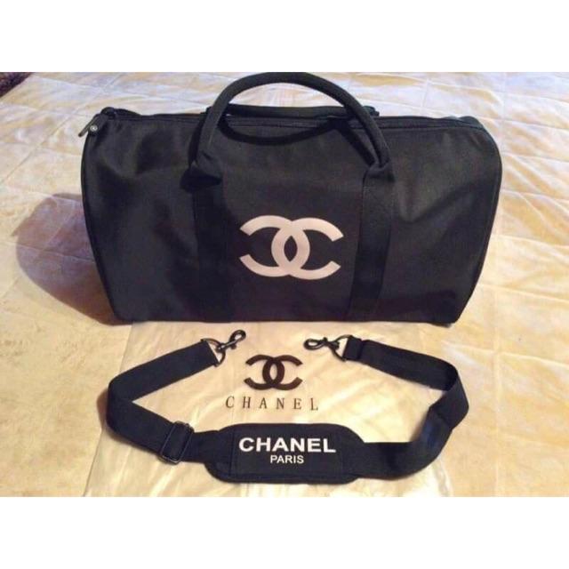 f77aafdf9a8 Chanel VIP Gift Bag Travel Bag Gym Duffel Weekend   Shopee Thailand