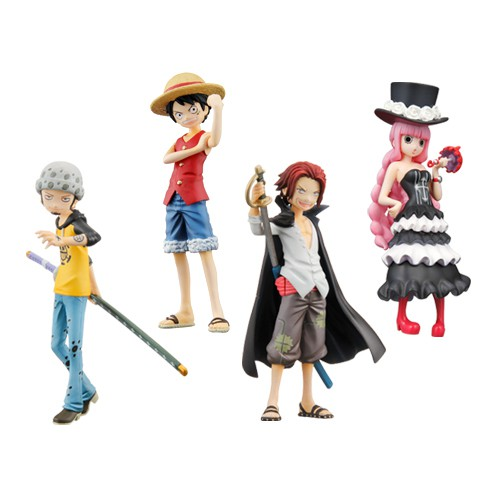 Bandai Half Age Figure One Piece Promise of the straw hat Vol 5