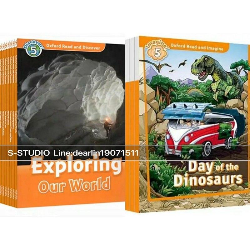 Oxford Read And Discover + Imagine Level 5/Children Education/Learning/Activities/Books Set/14 Books