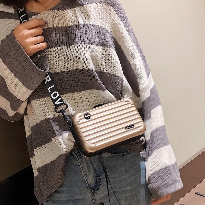 กระเป๋าหนัง, กระเป๋าใบเล็ก, กล่องรหัสผ่าน, กระเป๋าเดินทางขนาดเล็ก, กระเป๋าเดินทาง, กระเป๋าทรงสี่เหลี่ยมขนาดเล็กเปลือกแข็