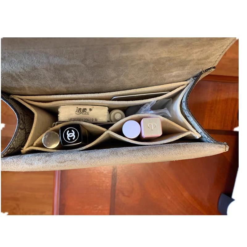 🔥🔥🔥🔥เหมาะสำหรับกระเป๋ากุชชี่ Gucci Dionysus กระเป๋าทรงสี่เหลี่ยมขนาดเล็กรองรับกระเป๋าด้านในกระเป๋าซับในกระเป๋าเก็บก
