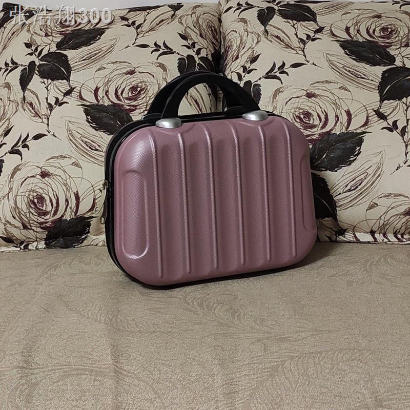 ❣กระเป๋าใส่เครื่องสำอางขนาดเล็กพกพาขนาด 14 นิ้ว, กระเป๋าเดินทางขนาดเล็ก 16 นิ้ว, กระเป๋าเดินทางแบบพกพากันน้ำ, กระเป๋าใส่
