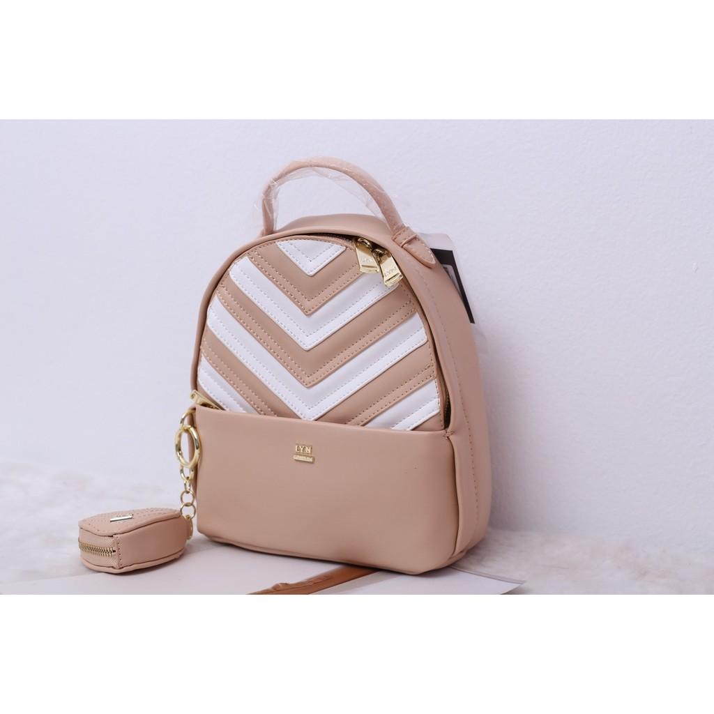 Lyn Rena Backpack Shoulder bag Beg Authentic beg wanita Beg bahu, beg crossbody,