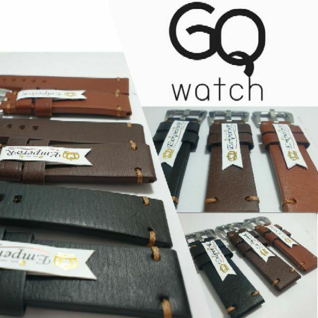 สาย applewatch สาย applewatch แท้ GQ watch สายนาฬิกา สายหนังแท้เกรด A สไตล์เรียบหรู อย่างมีระดับ wristwatch strap genuin