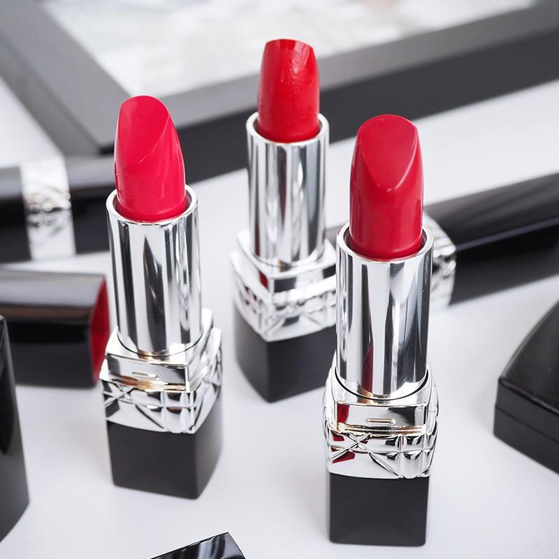 Special offer# Dior flame blue gold moisturizing lipstick lipstick matte 999 moisturizing 888#520# deaL
