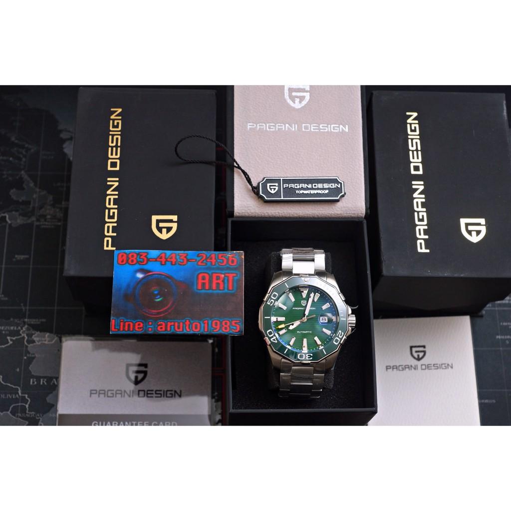 นาฬิกา PAGANI DESIGN PD1617 automatic กระจก Sapphire